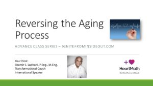 Reverse Your Aging Process